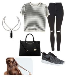 """""""9th may-2015"""" by h-peeringa on Polyvore featuring Topshop, Chicnova Fashion, NIKE and MICHAEL Michael Kors"""