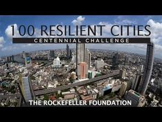 The Rockefeller Foundation launched the 100 Resilient Cities Centennial Challenge on its centennial, May 14, 2013. The $100 million grant program will help cities build greater resilience from the increasing shocks and stresses of the 21st century.