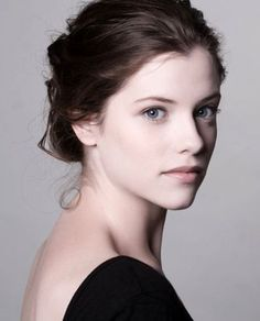 Jessica De Gouw--I have no idea who she is, but I think I have just found my main female character! She's a few years too old for the part, but it's very, very close to what I've imagined.