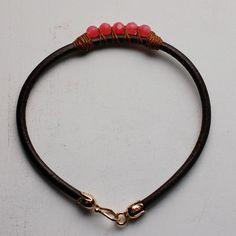 5 Perfect Gems Leather Bracelets-Ocean Colors | Wallin & Buerkle