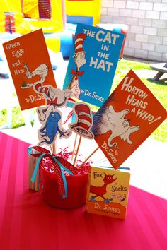 Dr. Suess 1st Birthday