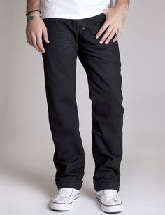 PRPS - Barracuda - Selvedge Black Raw | Prps Jeans | Denim | Selvedge Jeans