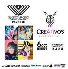 #CREATIVOS, las niñas se hacen presentes con GLAMOURAMA, así es ROXY DORIA pintando en vivo http://www.glamourama.com.mx/