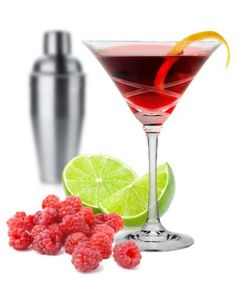 Raspberry Kamikaze*****1 3/4 oz. raspberry vodka*** 3/4 oz. Chambord Liqueur*** 3/4 oz. Daily's Non-Alcoholic Triple Sec*** 3/4 oz. Daily's Lime Juice