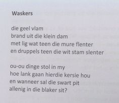 """Deur Koos Botha uit """"Flenters van die Ewigheid"""" Afrikaans, Van, Do Your Thing, Vans, Afrikaans Language, Vans Outfit"""