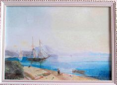 Neapolitan Gulf, reproduction of Ayvazovsky's painting