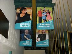 Custom event banners for our friends at Ruth Eckerd Hall