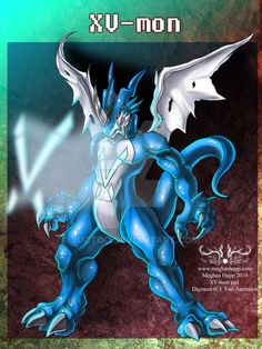 Digimon: eXVeemon by Juctoo on @DeviantArt