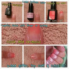 SensatioNail #Glitter gradient #gelpolish tutorial! Via Brittany Neal on our @Peter Thomas Thomas Thomas Doherty page!
