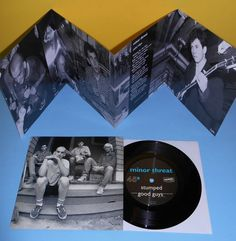 MINOR THREAT salad days ep 7 Record with fold out insert dischord rec fugazi Minor Threat, Revolutions, Lost Art, Rock Music, A Good Man, Vinyl Records, Guitars, My Favorite Things, Punk