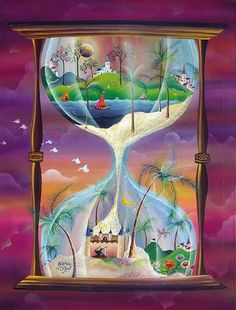 Argentina ~ Alejandro Costas ~ The Sands of Time Save Environment Poster Drawing, Save Water Poster Drawing, Save Earth Drawing, Nature Drawing, Cute Little Drawings, Cool Art Drawings, Earth Drawings, Composition Painting, Drawing Competition