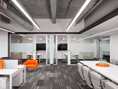 Group meeting spaces at Indeed's office // Austin, TX // by STG Design