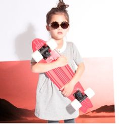 Penny Skateboard & Girl. Aww, I loved my first board too. Mine was not this pretty though. :)
