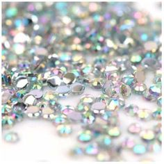 Freeshipping - 10000pcs 1.5mm Iridescent Crystal AB Rhinestones Nail Art Decorations US $9.00