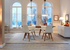 Perfekt Besonders Zu Weihnachten Sorgt Der Landhausstil Für Ein Extra An  Behaglichkeit Teppich Esszimmer, Esszimmer Modern