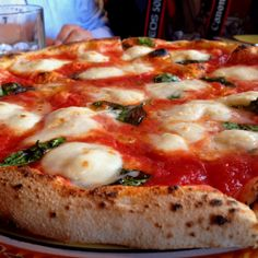 Pizza Margherita @ Tony's Pizza Napolitana