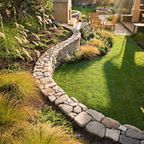 Coeur d'Alene Limestone Project - traditional - patio - other metro - by Maiden Stone Inc.