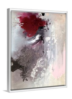 Beauty From Ashes abstract canvas print by Lindsay Letters.