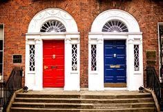 Doors of Dublin, Ireland - visit our blog for more Ireland inspiration!