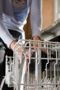 How to Stop White Residue on Dishes From a Dishwasher | eHow.com