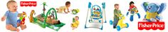Select your favourite Fisher price toys for your kids. These toys are available online at our toy shop at very reasonable prices. So, hurry up and buy it now.