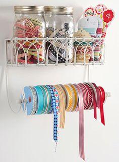 paper towel holder - ribbons