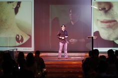 "Robert Hoekman on stage: ""Question everything"".  Frontiers 2011 - Day 2 by frontiersofinteraction, via Flickr"