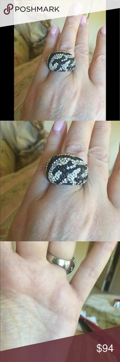 Swarovski ring Worn a couple of times like new beautiful statement ring , Swarovski. Swarovski Jewelry Rings