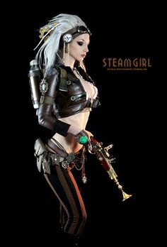 Limited Edition SteamGirl poster 20x30 by SteampunkCouture on Etsy