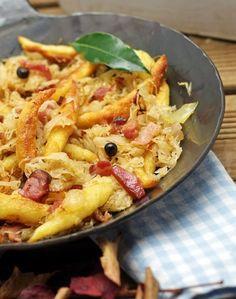 Für die Schupfnudeln Zutaten: 500 Gramm gekochte Kartoffeln vom Vortag 500 Gramm…