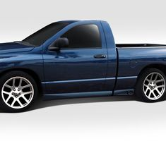 Duraflex 112000 Dodge Ram Standard Cab Side Skirt Rocker Panels, Signature Black - 4 Piece (Pack of Dodge Ram 1500 Hemi, Freight Truck, Major Holidays, Ram Trucks, Trucks For Sale, Template, Fit, Projects, Cars