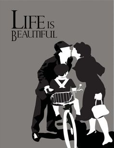 Life is Beautiful - Minimalist Movie Poster