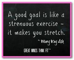 #Goal #Quote by Mary Kay Ash slanasa@marykay.com www.marykay.com/SLaNasa  www.facebook.com/MKbySLaNasa