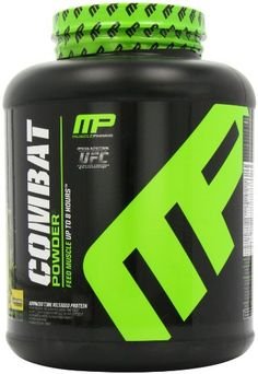 Muscle Pharm Combat Powder Advanced Time Release Protein, Banana Cream  4 Pound Muscle Pharm http://www.amazon.com/dp/B003IEM11G/ref=cm_sw_r_pi_dp_iARqvb023XVJ9