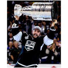 "Alec Martinez Los Angeles Kings Fanatics Authentic Autographed 16"" x 20"" 2014 Stanley Cup Champions Raising Stanley Cup Photograph"