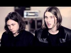 Watch British band Broken Hands talk about their creative process on the set of the Burberry Spark Sunglasses campaign