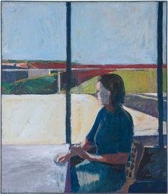 SFMOMA | Explore Modern Art | Our Collection | Richard Diebenkorn | Woman in Profile
