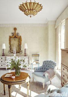 Celerie Kemble Bedroom Sitting Area