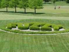 "The famous Fuzzy Zoeller ""Fuzzy"" bushes at Covered Bridge G.C."