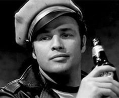 Marlon Brando. The Wild One