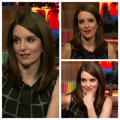 Another look at this cute cut on Tina Fey.