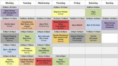 Maryborough Club Fitness Class Schedule