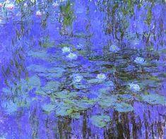 Monet:  Blue Water Lilies
