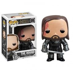 Funko Pop! The Hound, Cão, Game of Thrones, Funkomania, HBO, GOT, Séries