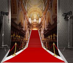 Amazon.com : Kate 5x7ft Red Carpet Photography Backdrops Beautiful Church Background for Photo Studio Wedding Backdrop : Camera & Photo Castle Background, Wedding Background, Backdrops Beautiful, Church Backgrounds, Photography Backdrops, Photo Studio, Red Carpet, Louvre, Stairs