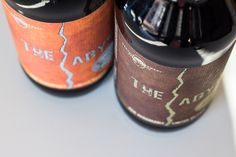 Remarkably Limited versions of The Abyss Rye & Cognac! 100% barrel aged!