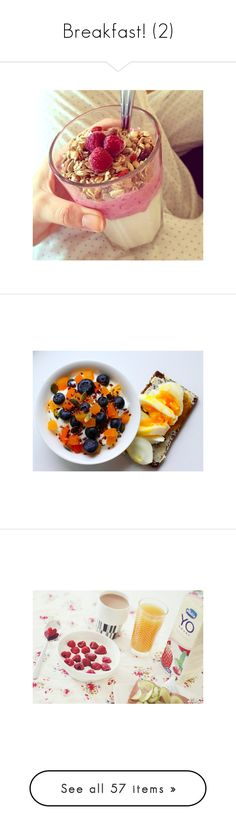 """""""Breakfast! (2)"""" by little-mrs-sunshine ❤ liked on Polyvore featuring food, pictures, instagram, comida, pink items, food and drink, photos, breakfast, food pictures and backgrounds"""