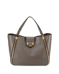 Sedgwick Medium Zip Tote Bag, Graphite by Tom Ford at Neiman Marcus. $2790