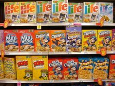 Switch the bags inside two boxes of cereal. | 31 Awesome April Fools' Day Pranks Your Kids Will Totally Fall For