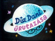 Dia Dani űrutazása - best diafilm ever Hold